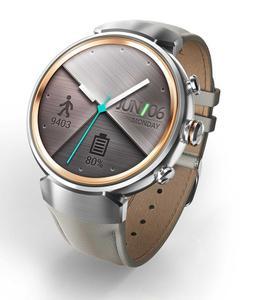 Смарт-часы ASUS ZenWatch 3 Silver/Beige Leather (WI503Q)