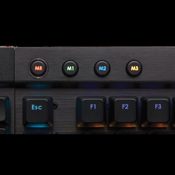 Клавіатура Corsair  K95 RGB (CH-9000221-DE), мініатюра №3