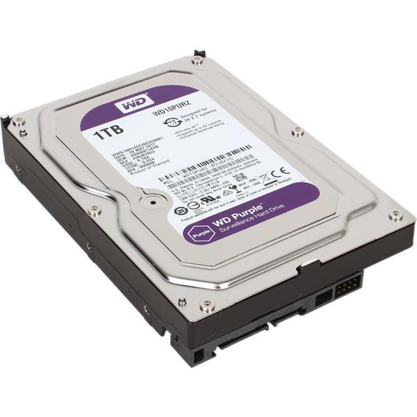 """Внутрішній жорсткий диск Western Digital 1ТБ 3.5"""" 5400 обертів в хвилину 64МБ SATAIII purple WD10PURZ, мініатюра №2"""