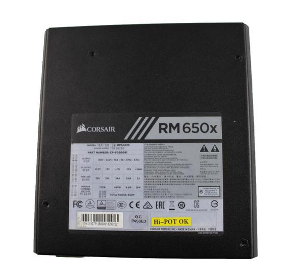 Блок живлення Corsair RM650x (CP-9020091-EU), мініатюра №2