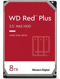 Внутрішній жорсткий диск Western Digital HDD SATA 8.0TB red Plus 7200rpm 256MB WD80EFBX
