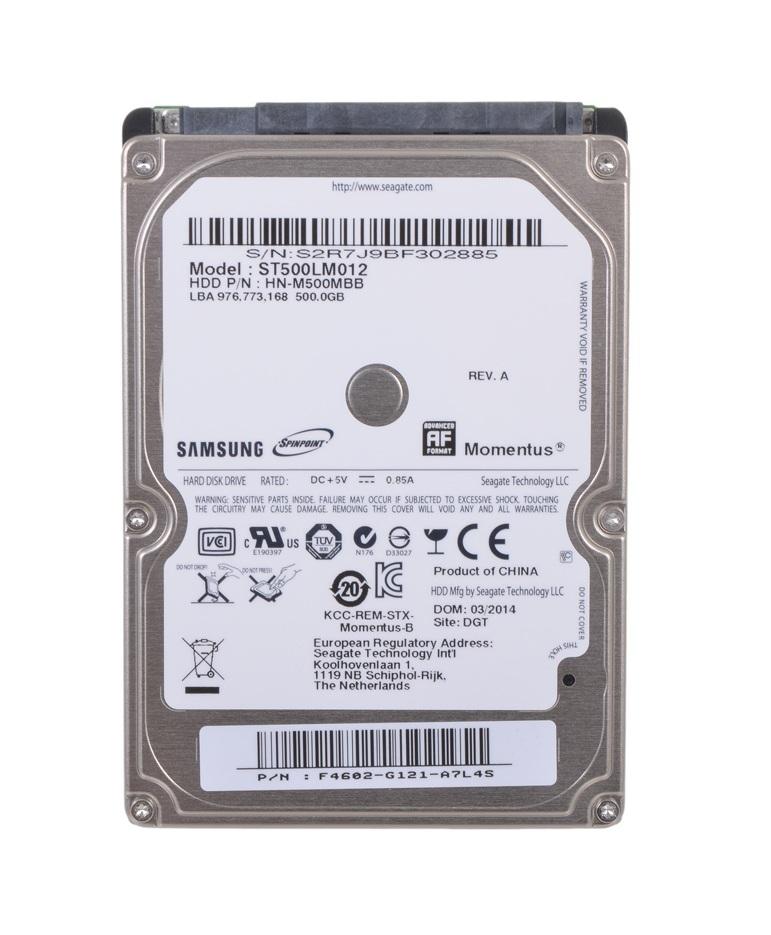 Жесткий диск Samsung Spinpoint M8 500ГБ 5400об/мин 8МБ SATA2 (ST500LM012)