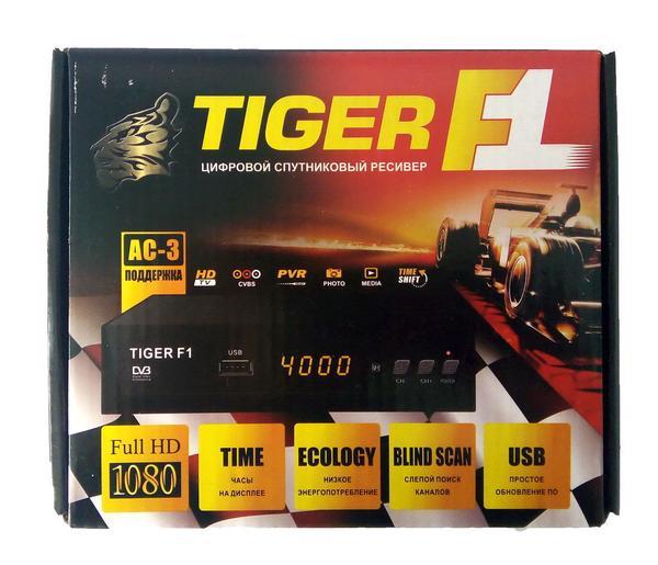 Спутниковый ресивер Tiger F1 HD , мініатюра №5