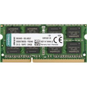 Модуль пам`яті Kingston SoDIMM DDR3 8GB 1600 MHz (KVR16S11/8)