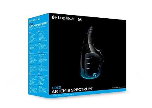 Навушники Logitech G933 Gaming Wireless (981-000599), мініатюра №14
