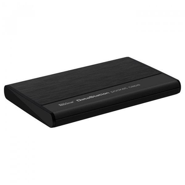"""Зовнішній жорсткий диск Trekstor DataStation pocket g.u 500ГБ 2.5"""" USB 2.0 External black TS25-500PGU, мініатюра №2"""