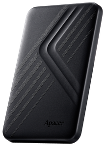 """Зовнішній жорсткий диск Apacer AC236 2TB 5400rpm 8MB AP2TBAC236B-1 2.5"""" USB 3.1 External black"""