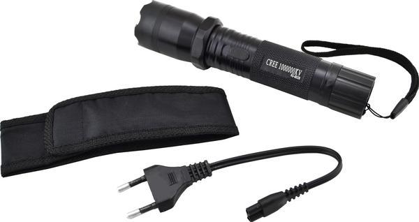 Многофункциональный тактический фонарик с отпугивателем Police 1101, мініатюра №5