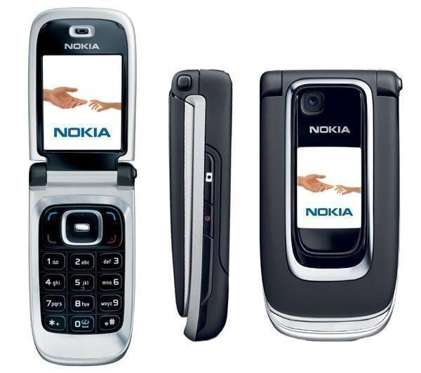 Кнопочный телефон Nokia 6131 Black/Silver, мініатюра №1
