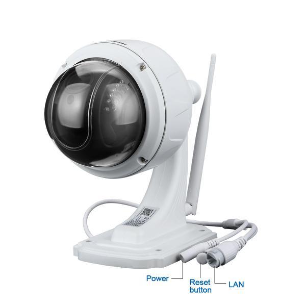 Камера відеоспостереження Floureon PTZ Wireless Wifi (SD13W), мініатюра №1