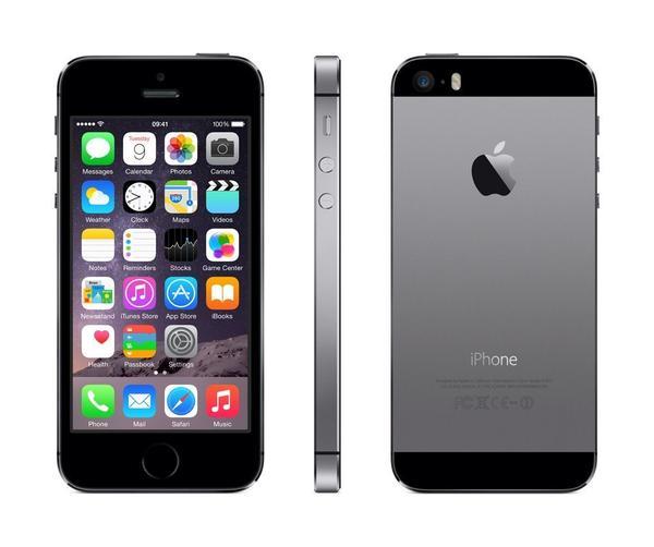Смартфон Apple iPhone 5S 16GB Space Gray, мініатюра №2
