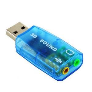 Звуковая плата Atcom USB-sound card (5.1) 3D sound Windows 7 ready 7807