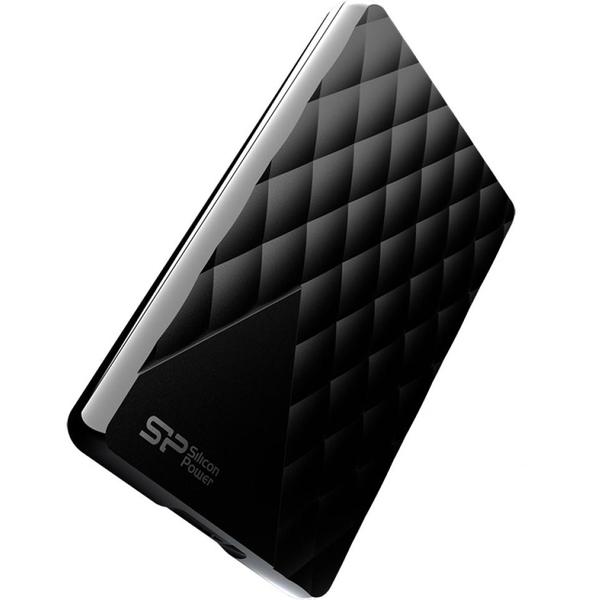 """Зовнішній жорсткий диск Silicon Power 2ТБ 2.5"""" USB 3.0 чорний SP020TBPHDD06S3K, мініатюра №2"""