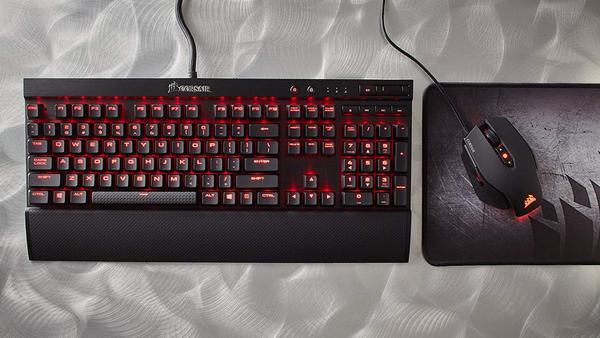 Клавіатура Corsair K70 LUX (CH-9101022-FR), мініатюра №4