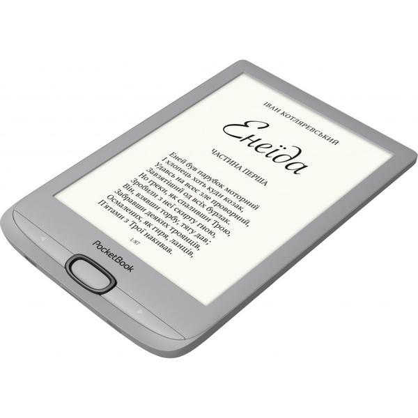 Електронна книга Pocketbook 616 Basic Lux2, Silver (PB616-S-CIS), мініатюра №3