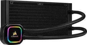 Система водяного охлаждения Corsair iCUE H100i RGB PRO XT (CW-9060043-WW), Intel 2011/2066/1151/1150/1155/1156, AMD TR4/AM4/AM3/AM2, 277х120х27 мм