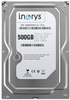 """Внутрішній жорсткий диск I.norys 500ГБ 7200 обертів в хвилину 16МБ 3.5"""" SATAII INO-IHDD0500S2-D1-7216, мініатюра №1"""