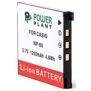 Аккумулятор для фото/видеокамер PowerPlant Casio NP-60 (DV00DV1227)
