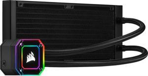 Система водяного охлаждения Corsair iCUE H100i Elite Capellix RGB (CW-9060046-WW), Intel 2066/2011/1200/1151/1150/1155/1156/1366, AMD TRX4/TR4/AM4/AM3/AM2, 277х120х27 мм