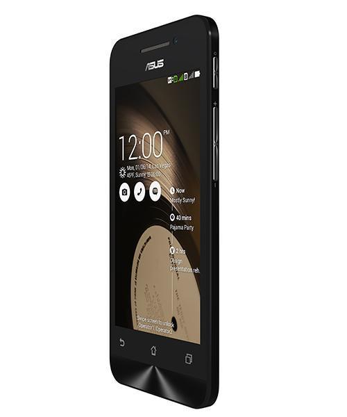 Смартфон Asus ZenFone 4 1-8 Gb black A400CG, мініатюра №3