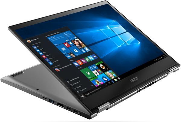 """Ультрабук 13,3"""" Acer Spin 5 SP513-52N-58WW Steel Gray, мініатюра №3"""