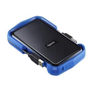 """Зовнішній жорсткий диск Apacer 2TB 2.5"""" USB 3.1 AC631 black blue AP2TBAC631U-1"""