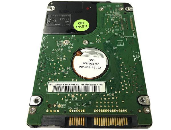 """Внутрішній жорсткий диск Western Digital 320ГБ 5400 обертів в хвилину 8МБ 2.5"""" SATA WD3200BVVT, мініатюра №4"""