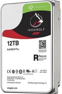 Внутрішній жорсткий диск Seagate HDD SATA 12.0TB IronWolf Pro NAS 7200rpm 256MB ST12000NE0008