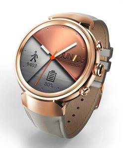 Смарт-часы ASUS ZenWatch 3 Rose Gold/Beige Leather (WI503Q)