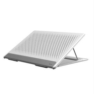 Аксесуари для ноутбуків Baseus Подставка Let''s go Mesh Portable Laptop Stand White&gray (SUDD-2G)