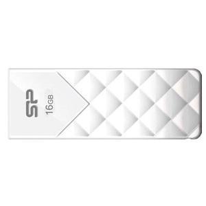 USB флеш-накопичувач Silicon Power 16Gb Ultima U03 White (SP016GBUF2U03V1W)
