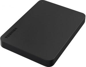 """Зовнішній жорсткий диск Toshiba 1TB 2.5"""" USB 3.0 Canvio Basics black HDTB410EK3AA"""
