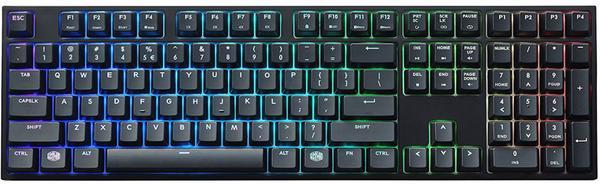 Клавіатура Cooler Master MasterKeys Pro L RGB USB Black (SGK-6020-KKCR1-RU), мініатюра №1