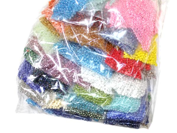Бисерный FROM FACTORY NHS набор с мелким бисером 10/0 (100шт/50цветов) по 5 грамм, мініатюра №2