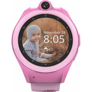 Детские умные часы UWatch Q610 Kid wifi gps smart watch Pink (F_52919)