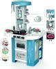 Интерактивная детская кухня со звуком голубая Tech Edition Smoby 311049, мініатюра №3