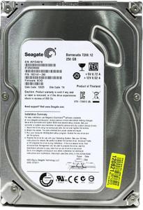 """Внутрішній жорсткий диск Seagate Desktop HDD 250ГБ 7200 обертів в хвилину 16МБ 3.5"""" SATA III ST250DM000"""