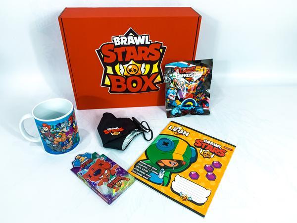 Brawl stars Подарочный Бокс Бравл Старс mini 1 девочке и мальчику, мініатюра №2