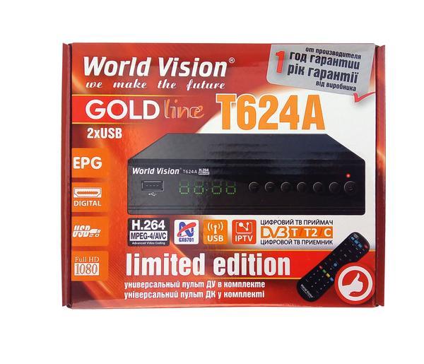 Т2 тюнер World Vision T624А WI-FI модуль 5Дб дальнобойный  IPTV , мініатюра №4
