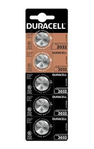 Батарейки Duracell DL2032 DSN упаковка 5 шт