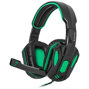 Навушники Defender Warhead G-275 Green Black (64122)