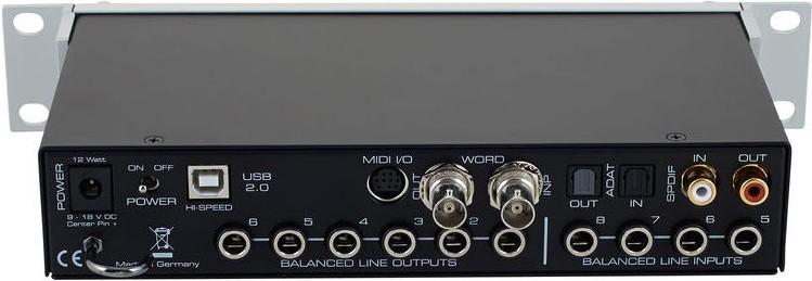 Аудиоинтерфейс RME FireFace UC