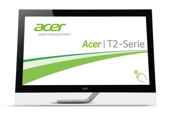 Монітор Acer T2 T272HULbmidpcz T272HUL, мініатюра №2