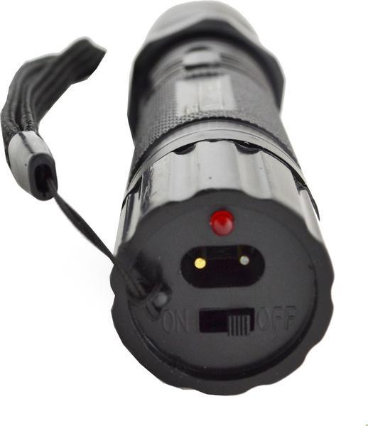 Многофункциональный тактический фонарик с отпугивателем Police 1101, мініатюра №6