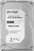 """Внутрішній жорсткий диск I.norys 320ГБ 5900 обертів в хвилину 8MB 3.5"""" SATA II INO-IHDD0320S2-D1-5908, мініатюра №1"""
