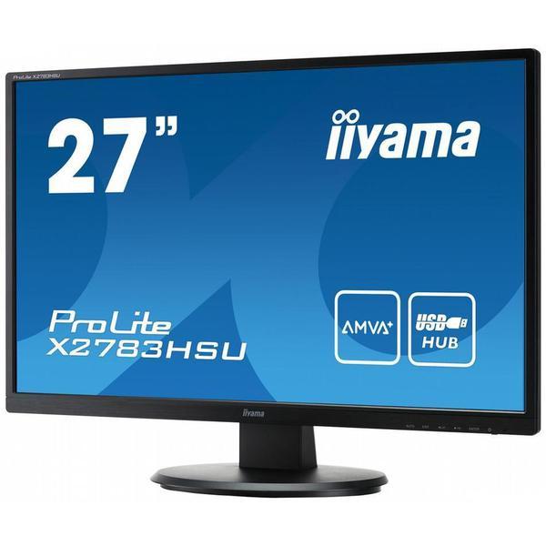 """Монітор Iiyama LED 27"""" Full HD X2783HSU-B1, мініатюра №4"""