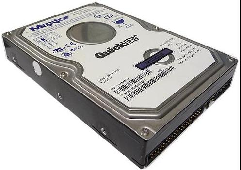 """Внутрішній жорсткий диск Maxtor Seagate DiamondMax 160ГБ 7200 обертів в хвилину 8МБ 3.5"""" IDE 6L160P0, мініатюра №2"""