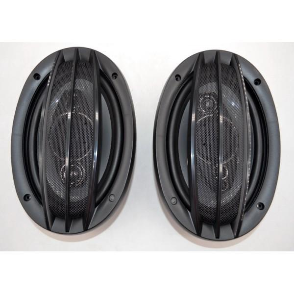 Автоакустика SP-6994 69 5-ти полос 1200W автомобильная акустика динамики автомобильные колонки, мініатюра №1