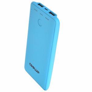 Универсальная батарея (Power Bank) CoolUp CU-V8 6000mAh Blue (BAT-CU-V8-BE)