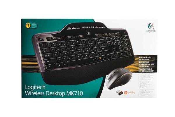 Комплект Logitech  Wireless Desktop MK710 (920-002434), мініатюра №10